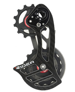 Over sized derailleur pulley system-Ridea RD1 C35 ceramic ball
