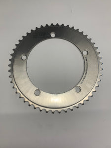 Titanium chainrings by DSP