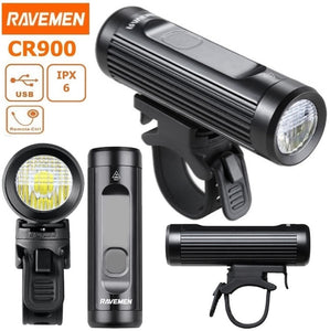RAVEMEN CR900 - USB Front Light - 900 Lumens