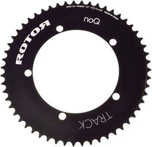 Rotor track chain rings