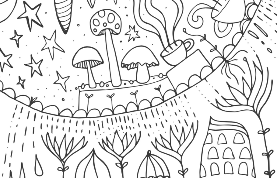 Printable Colouring Sheet