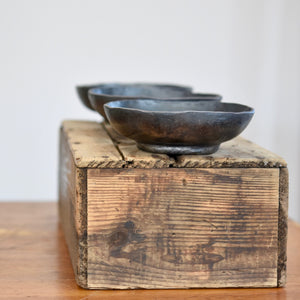 hand forged iron bowls anniversary gift by R&R Handmade