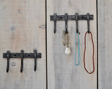 Load image into Gallery viewer, Key Rack / Necklace Holder ~ wall-mounted