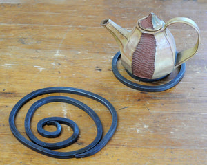 Pair of Spiral Trivets
