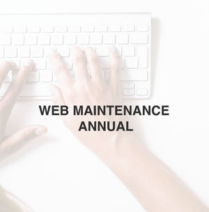 WEB MAINTENANCE | ANNUAL