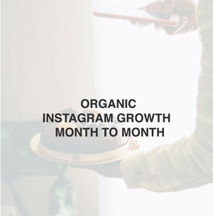 Organic Instagram Growth | Month to month