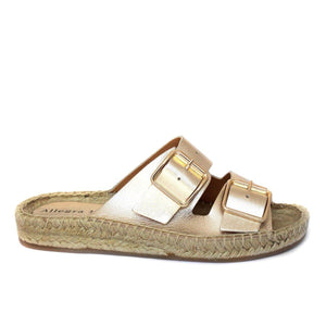 SAGE gold leather - Allegra James