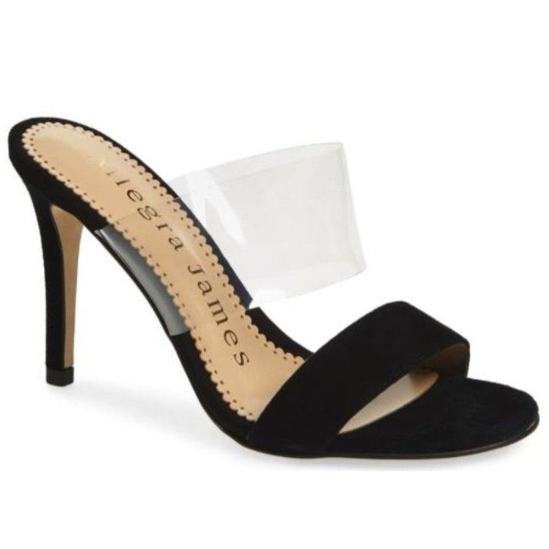 DANCE sandal in black suede - Allegra James