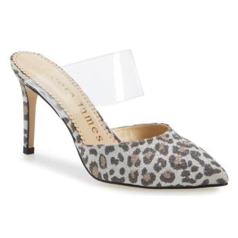 CHLOE pump in leopard print fabric - Allegra James
