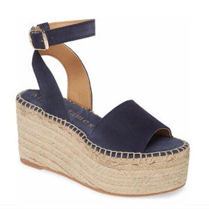 MARGIE NAVY SUEDE - Allegra James