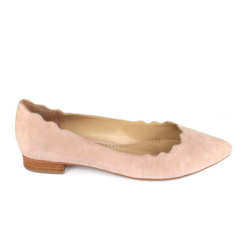 KAREN in nude suede - Allegra James