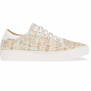 TAM sneaker in beige tweed - Allegra James