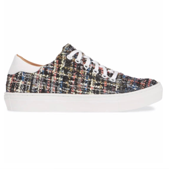 TAM sneaker in black tweed - Allegra James