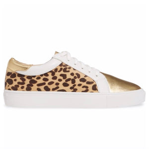 LORIE sneaker in leopard hair calf - Allegra James
