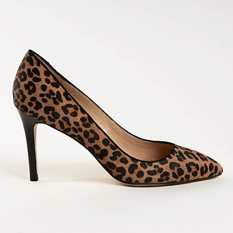 MANDY Pump in Leopard Hair Calf - Allegra James