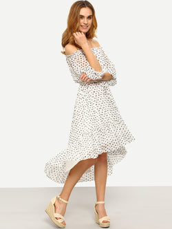 Loretta Dotted Dress