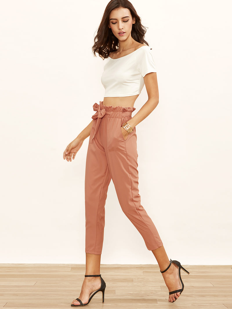 Nude Adrianna Self-tie Pencil Pant