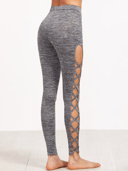 Statuesque Knit Leggings