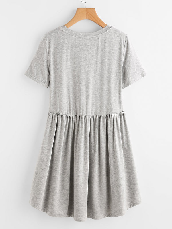 Granite T-shirt Dress