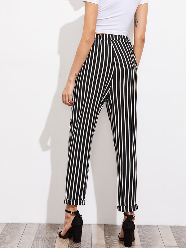 Canterbury Striped Peg Pant