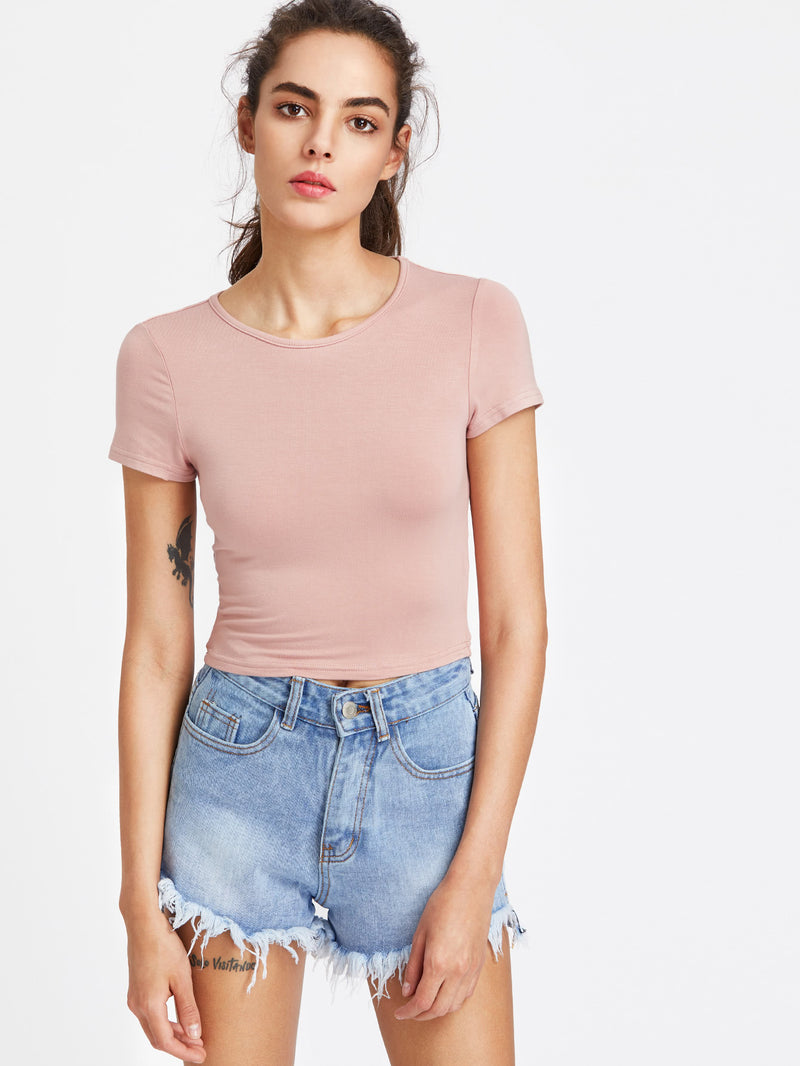 Rollo Basic Crop Tee