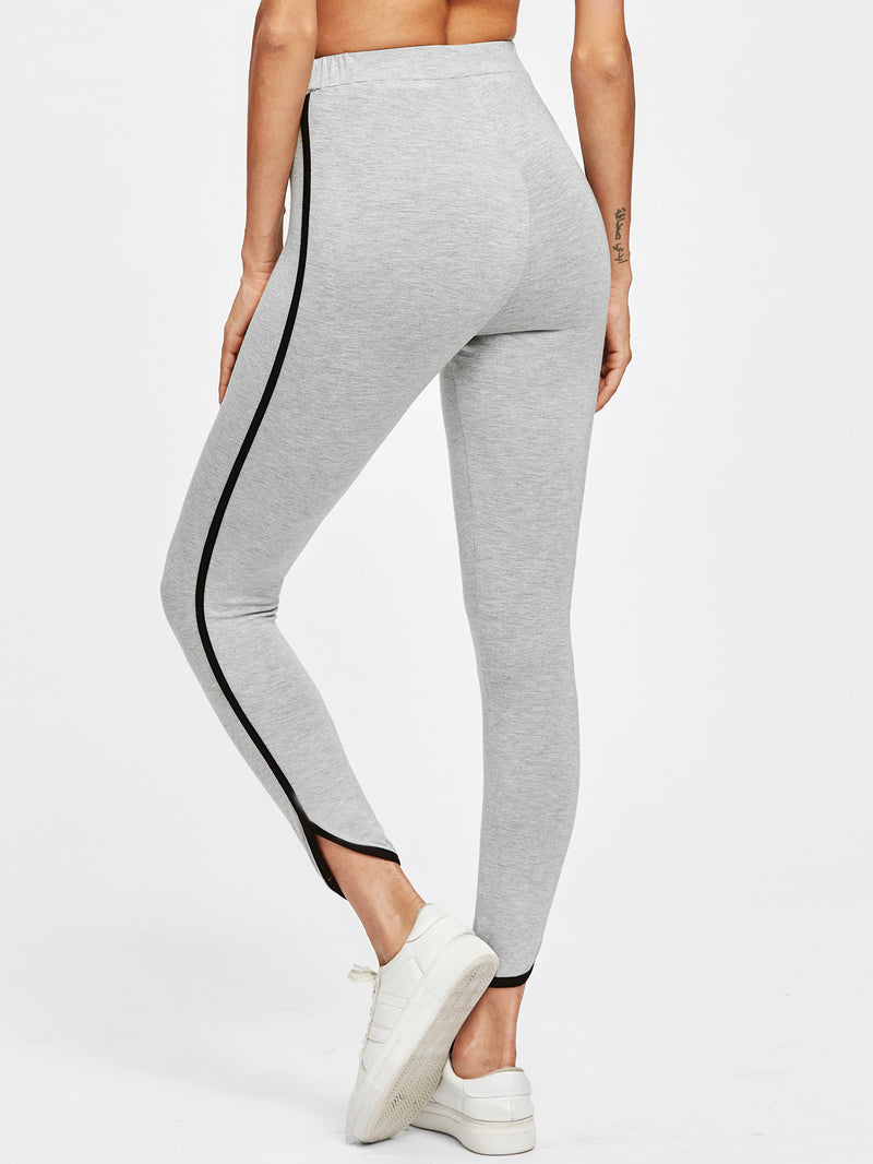 Kayla Dipped Contrast Leggings