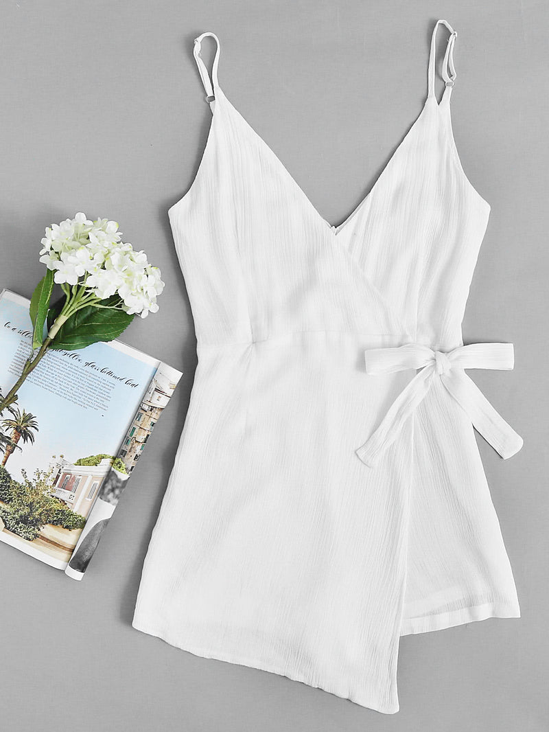 Harbor Wrap Playsuit