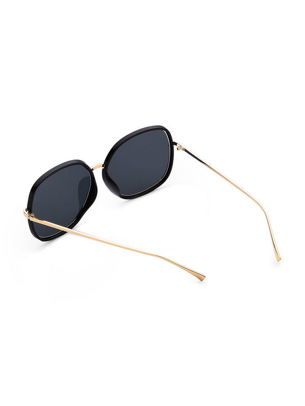 Gold Ring Round Sunglasses