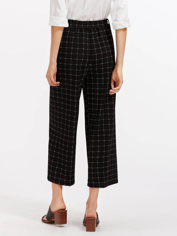 Shea Wide Leg Culotte Pants