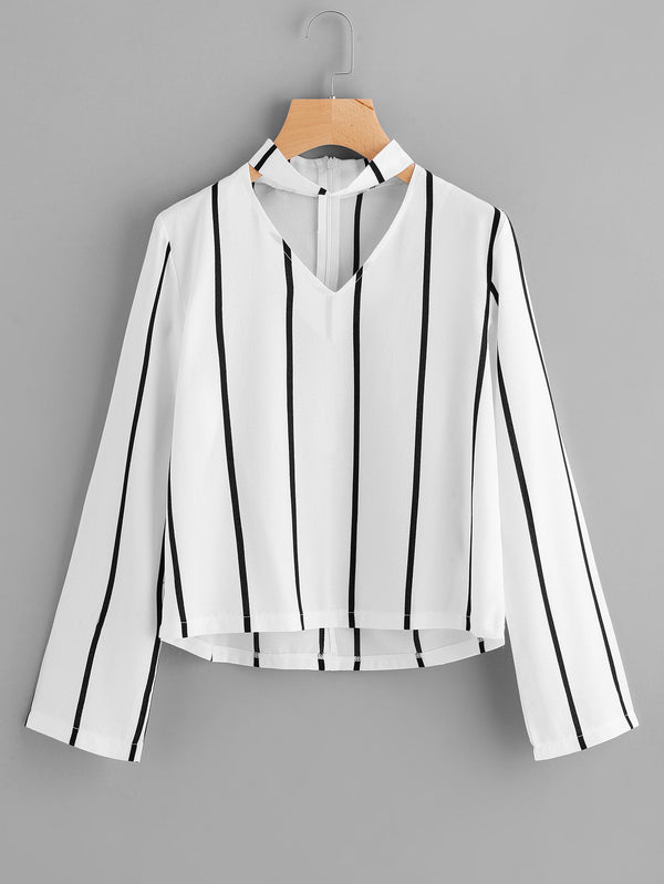 Sovereign Stripe Blouse