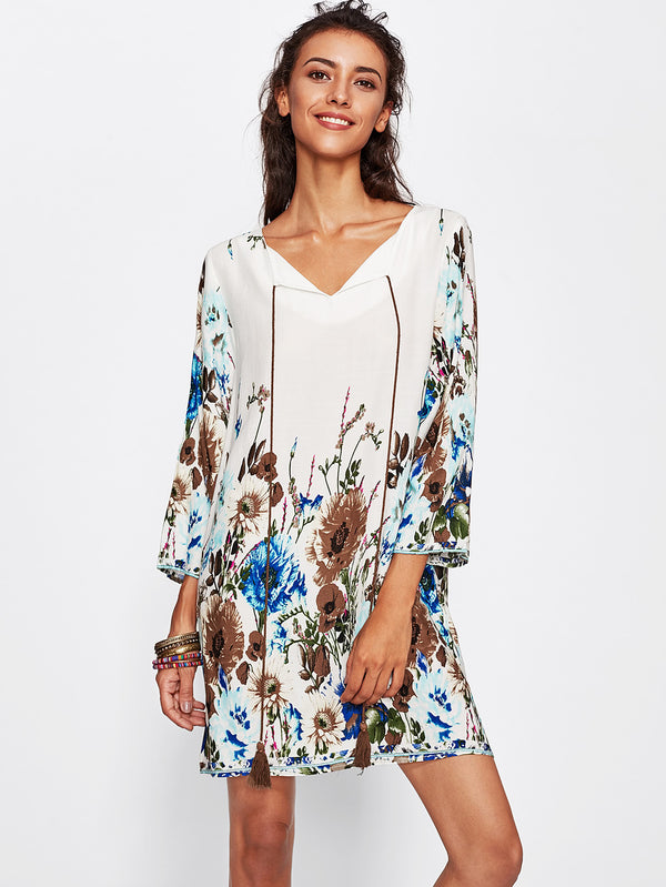 Wildflower Tunic Dress