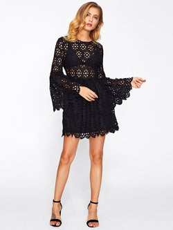 Lorelei Lace Flare Dress