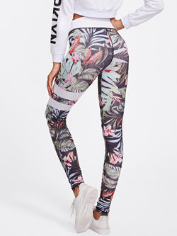 Resolute Floral Leggings
