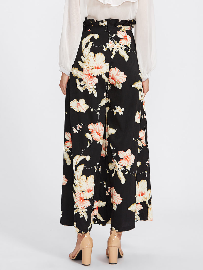 Angelica Pleated Palazzo Pants