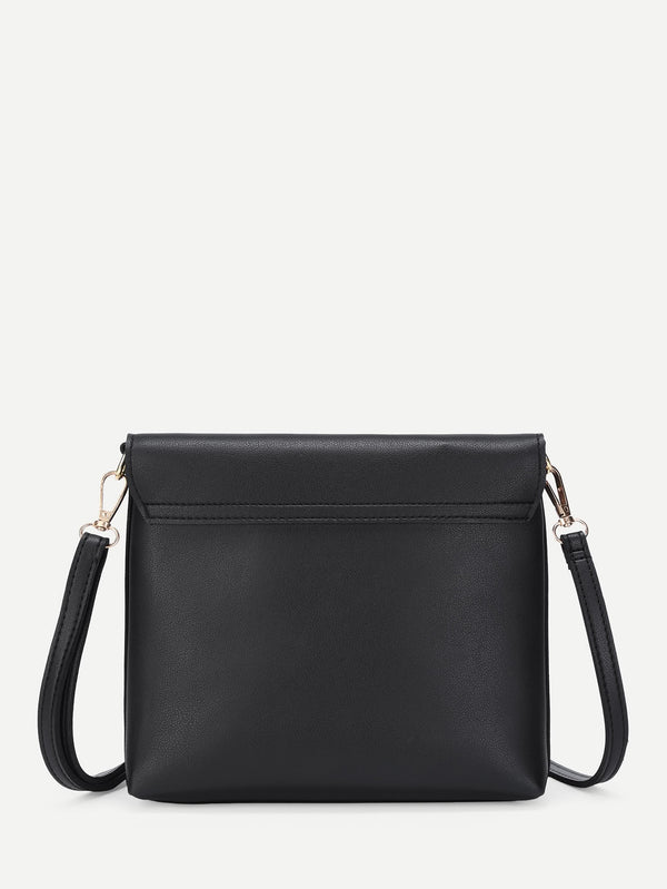 Tassel Detail Shoulder Bag