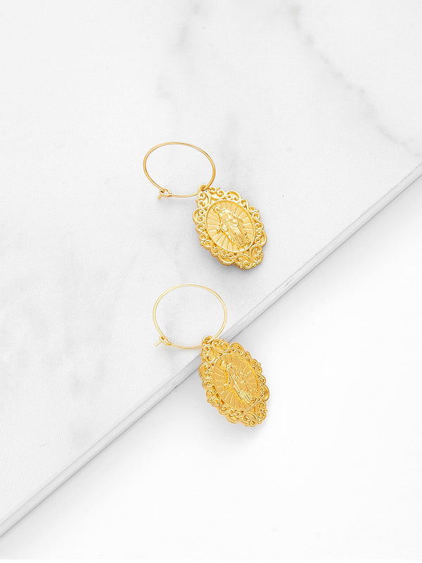 Auric Hoop Earrings