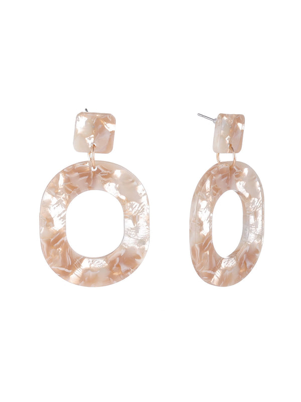 Marble Ring Earrings