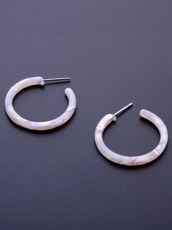 Mist Hoop Earrings