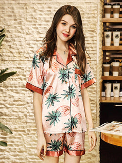 Sweet 'n' Sour Button-Up Pyjama Set