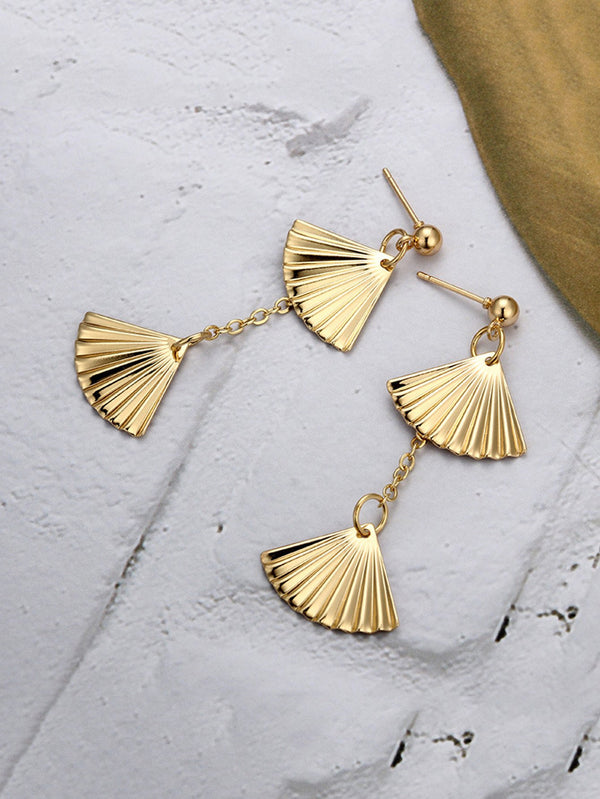 Fan Dangle Earrings