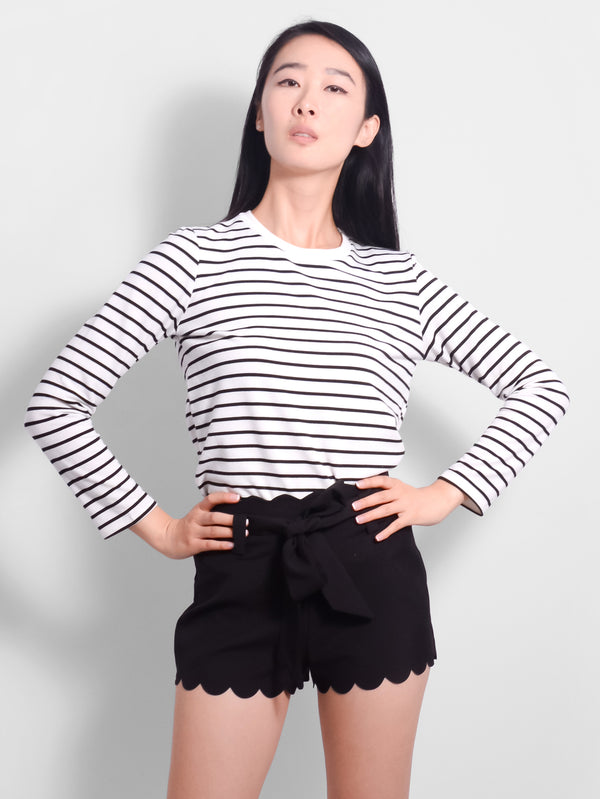 Blake Stripe Long Sleeve Top