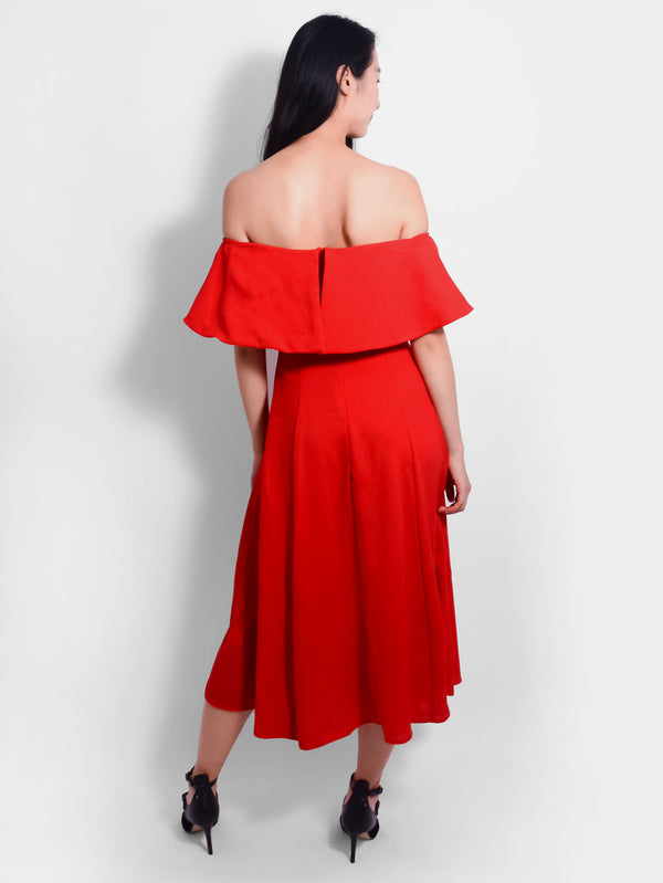 Señorita Off Shoulder Dress