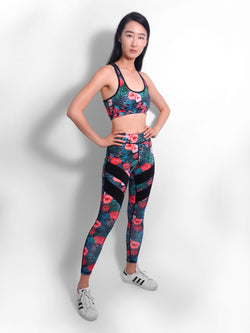 Efflorescent Floral Gym Set