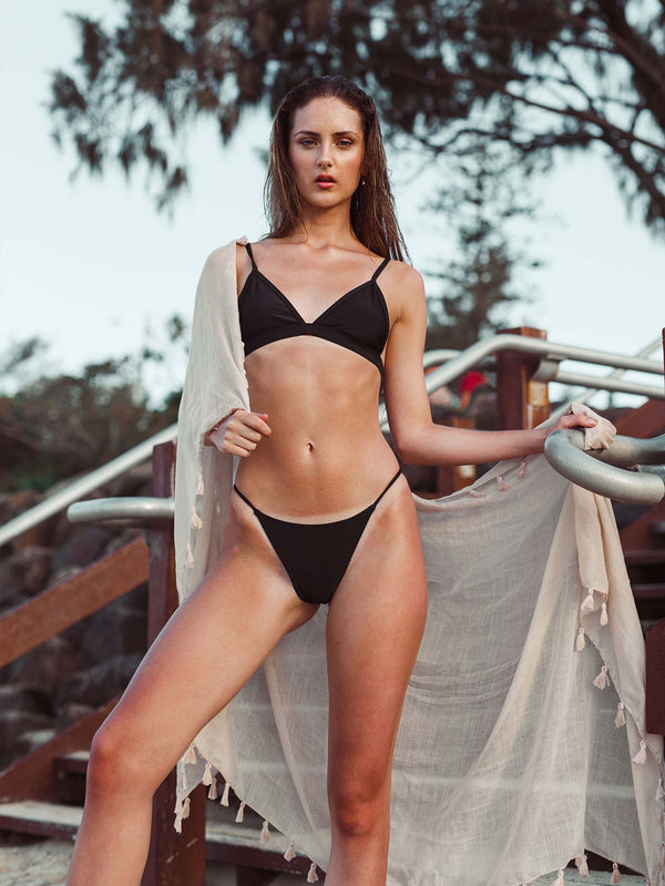 Fennel Triangle Bikini Top