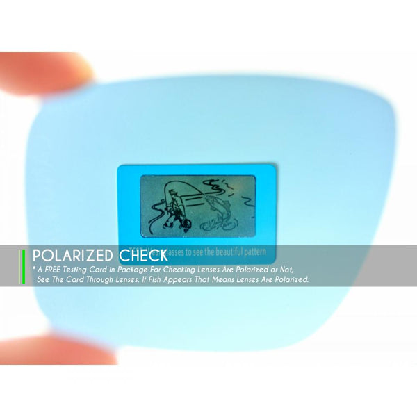 Oakley Blender Sunglasses Polarized Check