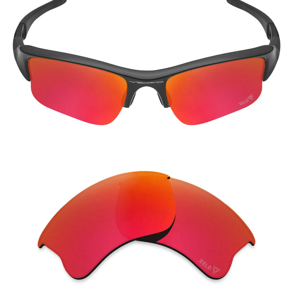 MRY Replacement Lenses for Oakley Flak Jacket XLJ