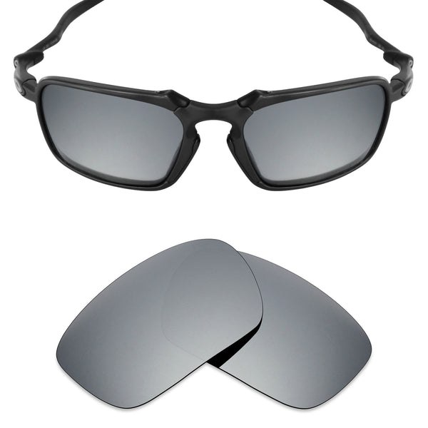 MRY Replacement Lenses for Oakley Badman