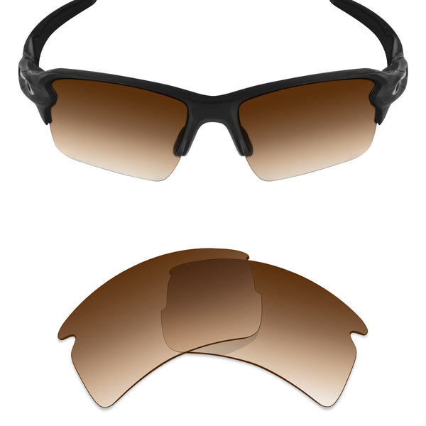 MRY Replacement Lenses for Oakley Flak 2.0 XL OO9188