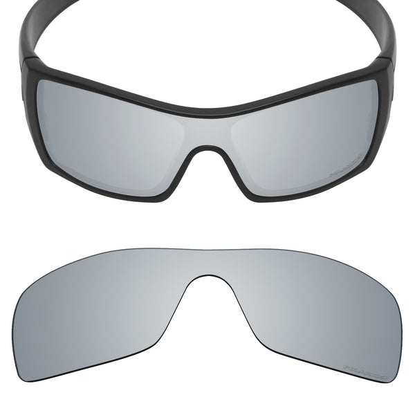 MRY Replacement Lenses for Oakley Batwolf OO9101