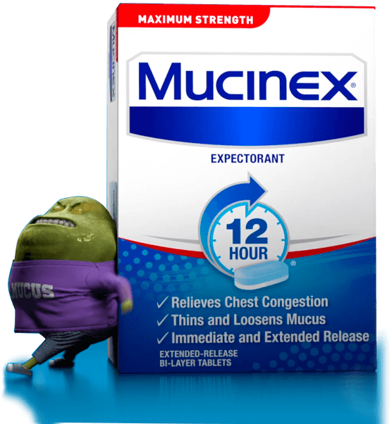 Mucinex® 12 Hour Expectorant Extended Release Tablets